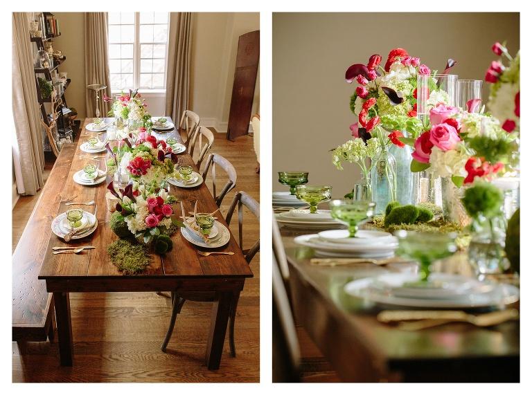Wedding table decor grove park inn asheville nc for Table asheville