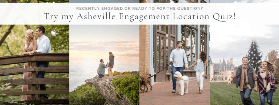 Asheville Engagement Photo Locations | Kathy Beaver Photography