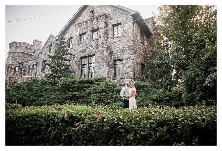 Asheville castle wedding